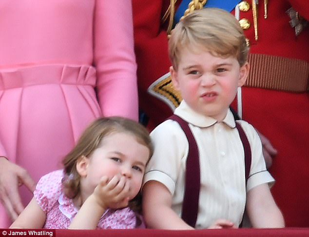 Prince George and Princess Charlotte RBF