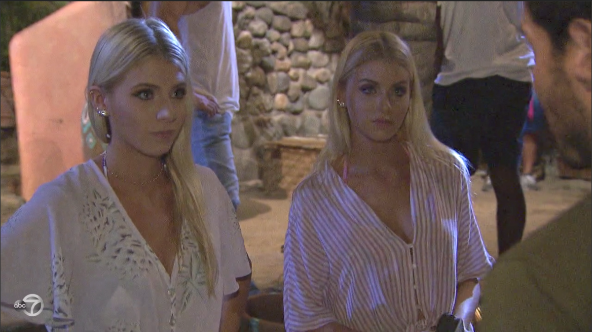The Twins Bachelor In Paradise
