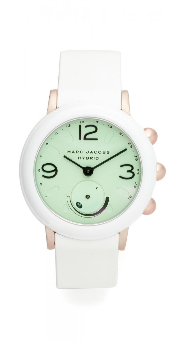 Marc Jacobs Riley Hybrid Tech Watch