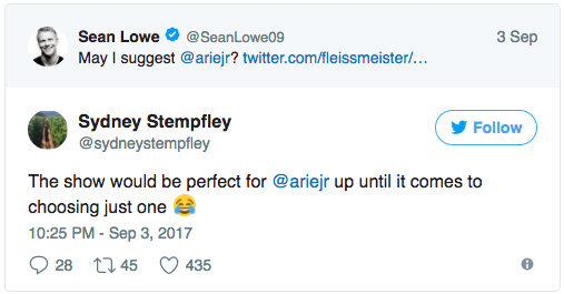 Sydney Stempfley Twitter