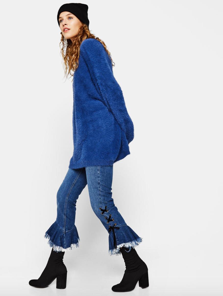 Bershka Flared Jeans