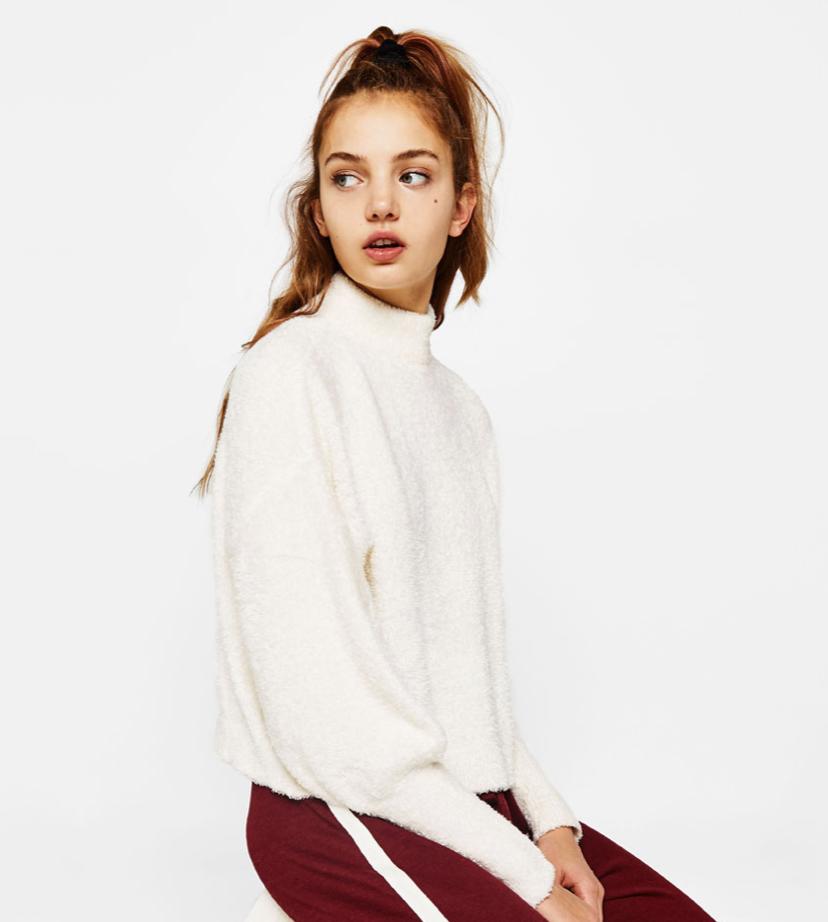 High Neck Sweater Bershka