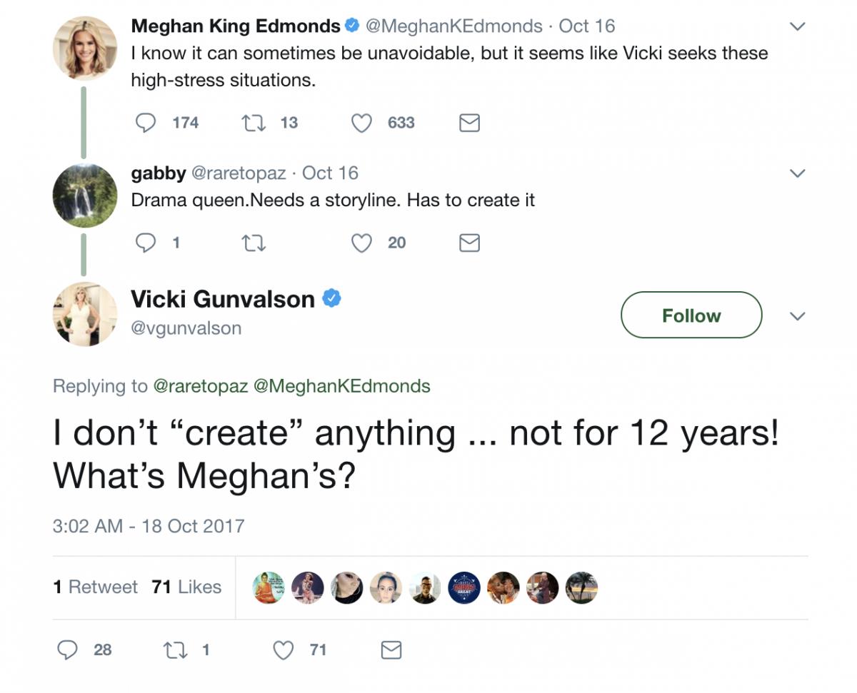 Meghan King Edmonds and Vicki Gunvalson