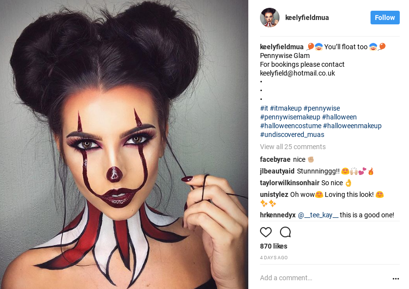 Halloween Makeup Easy Clown.5 Easy Halloween Makeup Looks You Don T Have To Be A Beauty
