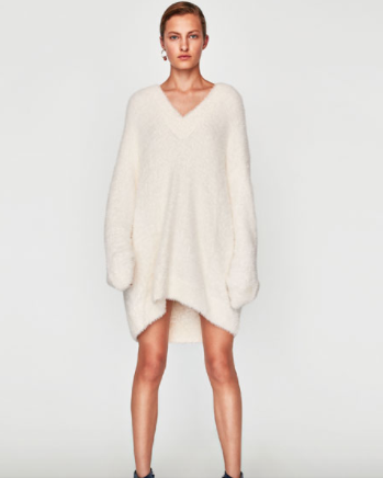 Zara Oversized Textured Sweater