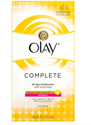 Olay Complete All Day Moisturizer Normal Skin SPF 15