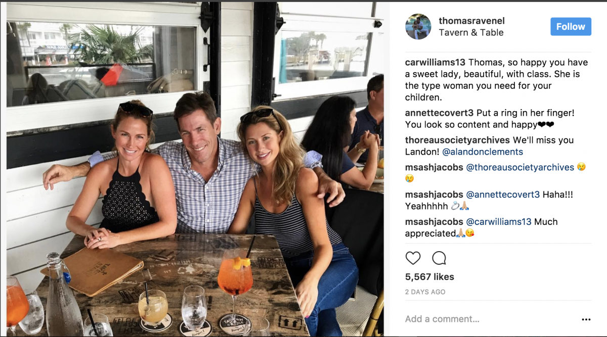 Thomas Ravenel Girlfriend