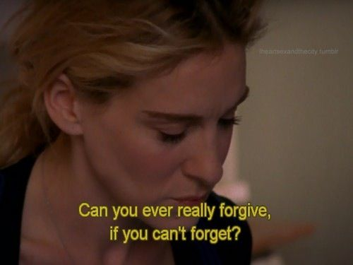 Forgive and Forget SATC