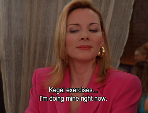 Kegel Exercises SATC