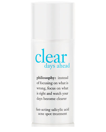 Philosophy Clear Days Ahead Fast Acting Acne Spot Treatment
