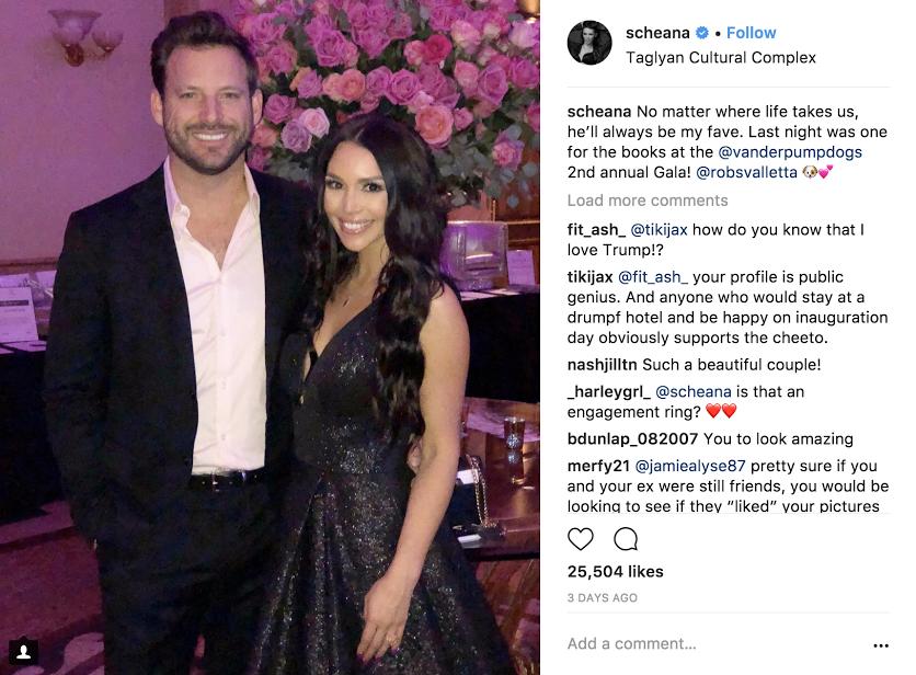 Scheana And Rob Instagram