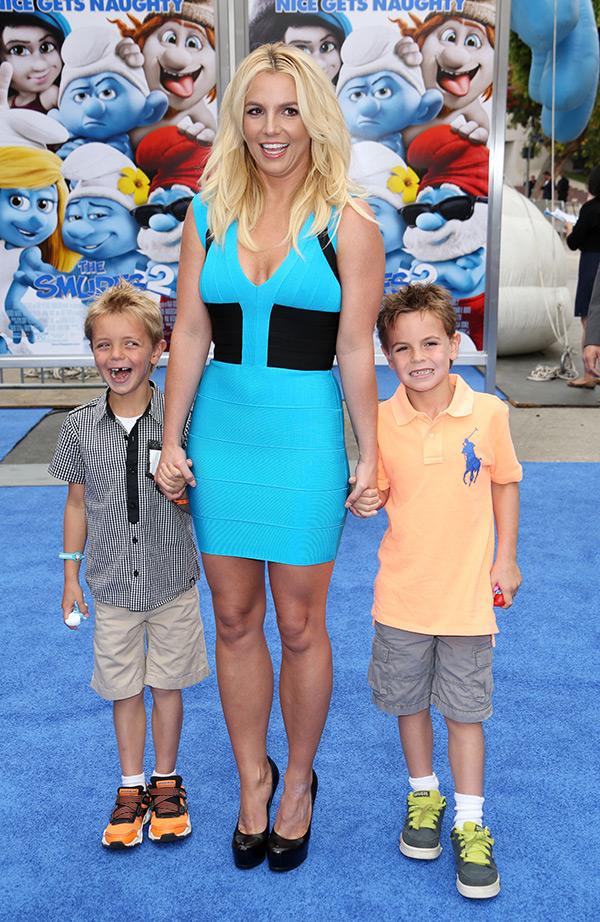 Britney Spears Surfs 2
