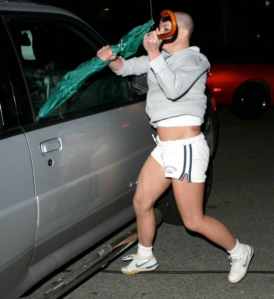 Brittany spears car shot