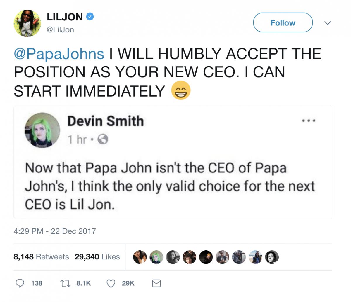Papa John Isn\'t In Charge Of Papa John\'s Anymore · Betches