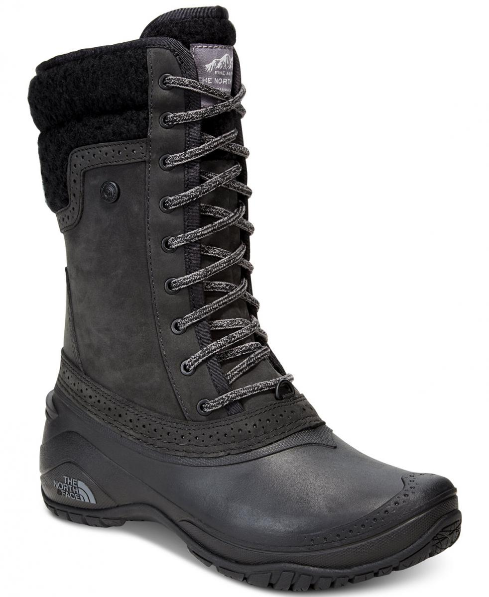 North Face Women's Shellista Waterproof Mid Cold Weather Boots