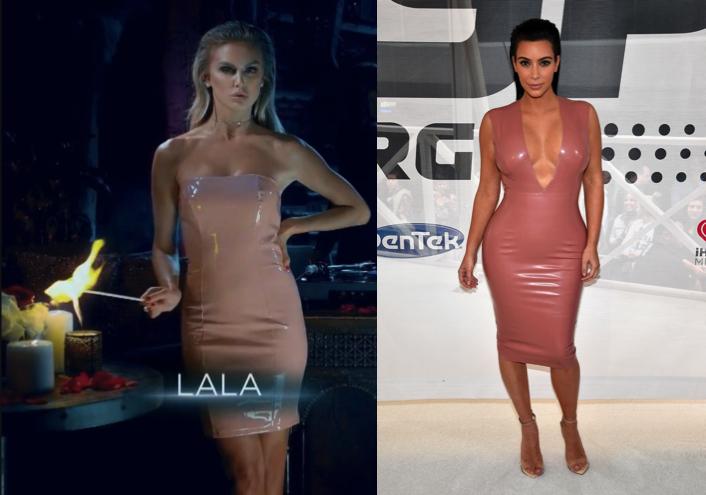 Lala Kent Kim Kardashian