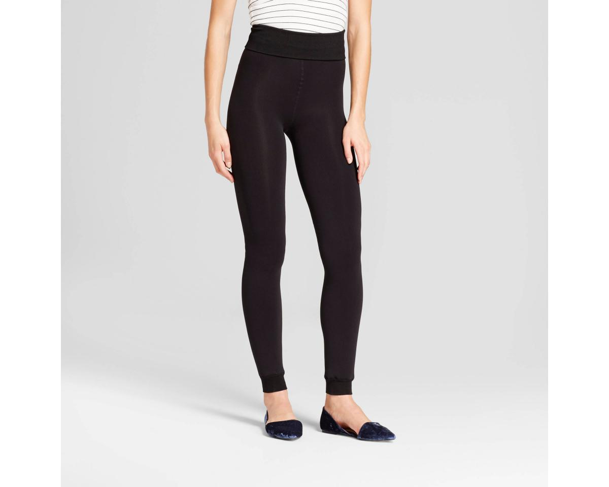 A New Day Fleece Lined Footless Tights
