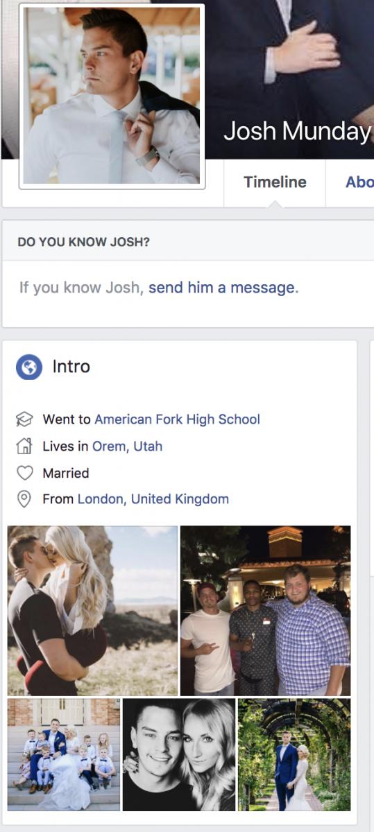 Josh Munday Facebook