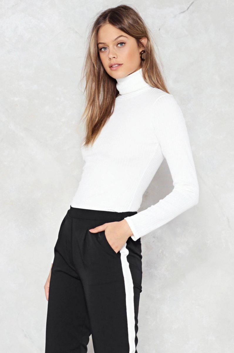 Nasty Gal Got No Chill Turtleneck Sweater