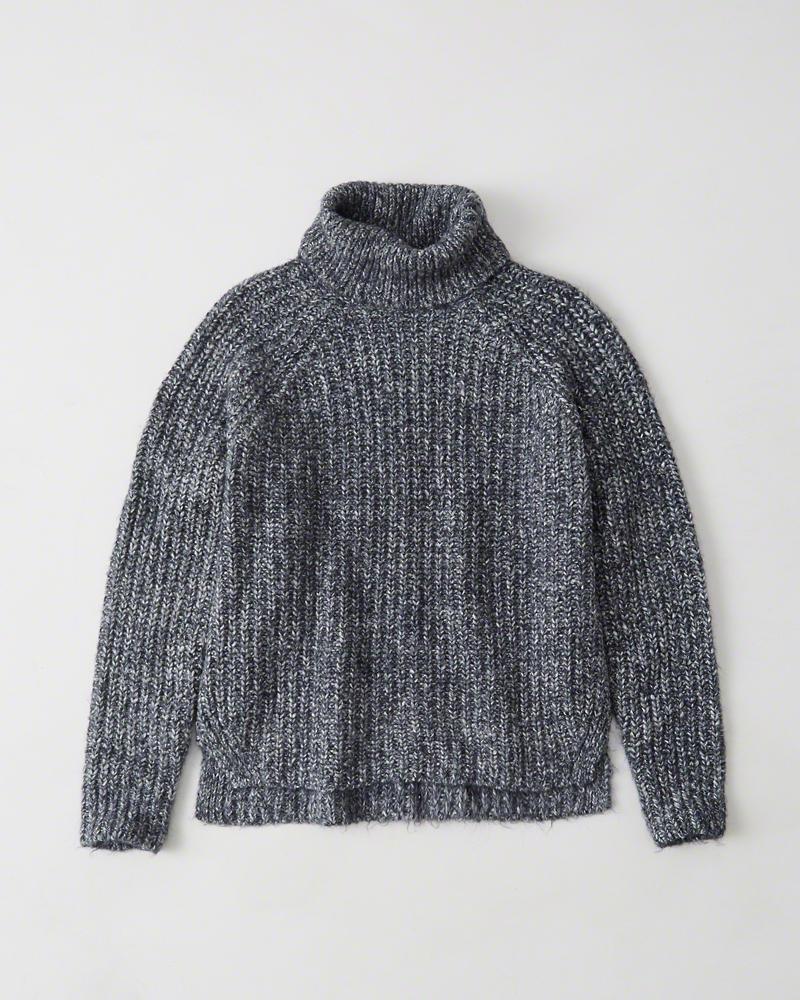 A&F Shaker Turtleneck Sweater
